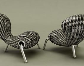 Cappellini Embryo Chair Signature 3D model