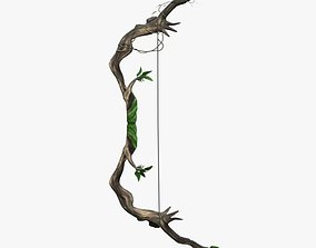 3D asset forest bow