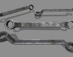 3D model Wrench 1