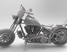 Harley-Davidson Bike 3dm model