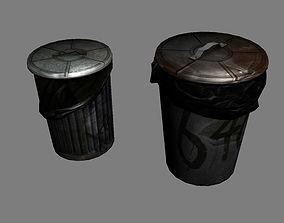 3D model Garbage Barrels