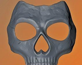 Call of Duty MW 2019 Ghost skull mask 3D print model
