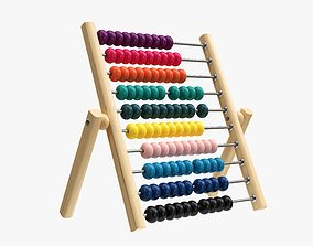 3D Abacus counting frame