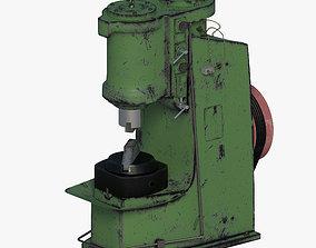 3D model Pneumatic forging hammer