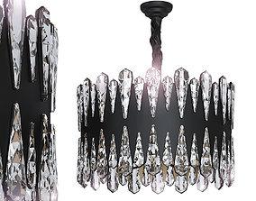 3D model Crystal pendant lamp D50