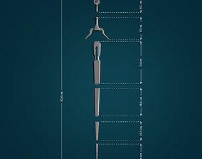 Zireael Sword from Witcher 3D print model