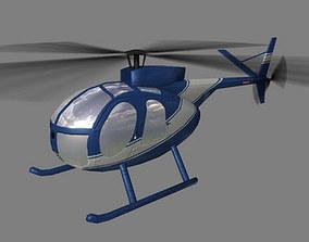 3D model Hughes500 V3 Helicopter