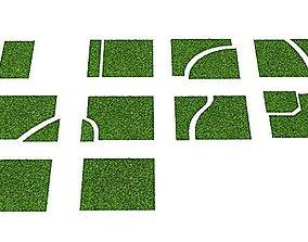 3D Grass Patches