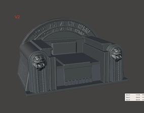 Boba Fett Jabba Palace Throne 6 inch 3D printable model 1