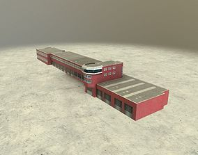 3D model EDDB Fire Department 2