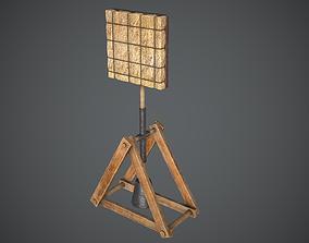 Target Balance Medieval 3D model