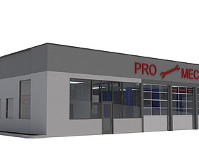 3D Retail-007 Auto Service
