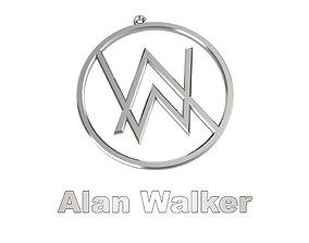 Alan Walker - Necklace - Medal 3D print model
