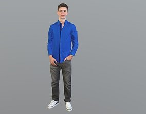 No137 - Male Standing 3D model