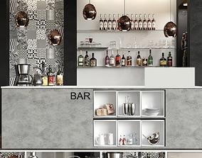 Bar Alcohol 13 3D