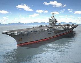 USS Enterprise CVN-65 Carrier HD 3D model