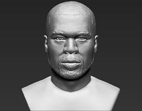 50 Cent bust 3D printing ready stl obj formats