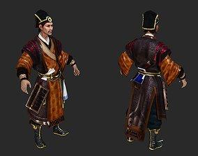 3D model Ancient Chinese Hanfu businessman Landlord Vulgar