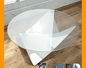 3D Coffee Table carpet-vray