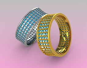 3D printable model gents ring jewelry