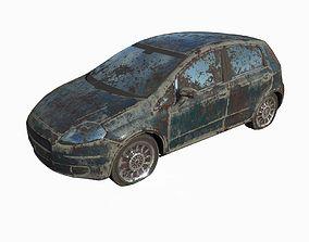 3D Abandoned Car 18