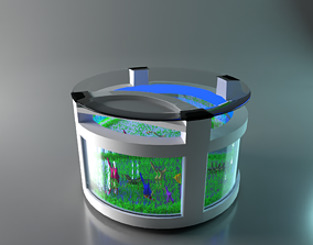 furniture 3D Aquarium Table