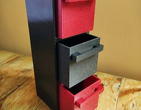 Modulated boxes 3D printable model