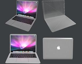 3D asset Apple MacBook Pro Laptop Computer Game Ready