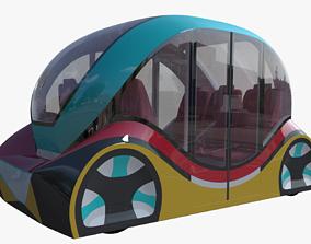3D model Smart minibus IV