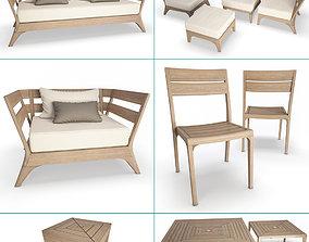 3D Village Outdoor Wooden Collection Unopiu