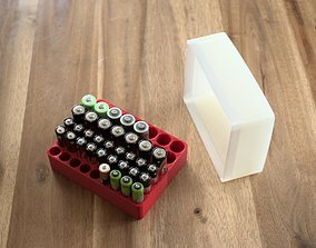 3D print model Storage box for electric batteries