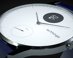 Hybrid Smartwatch Withings Steel 3D asset