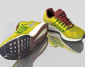 3D model Yellow sneakers