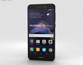 3D Huawei P8 Lite 2017 Black