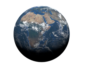 3D Earth geography