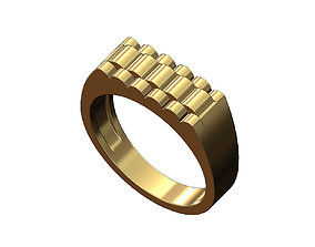 3D printable model Rolex style top ring size 6to11