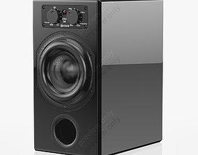Adam Audio ARTist Sub Gloss Black 3D