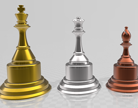 Chess trophies 3D printable model