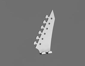 Guitar wall hanger 3 3D print model