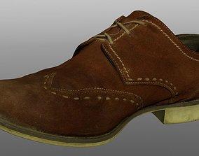 realtime Shoe low poly 3D model