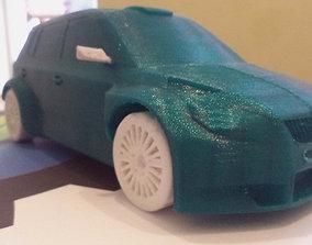 3D print model Skoda Fabia s2000 wrc