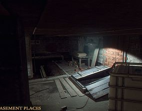 3D asset Basement Places