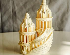 3D printable model elven-castle Elven High-Castle