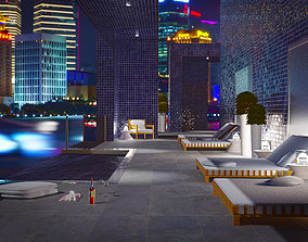 3D asset VR / AR ready Penthouse