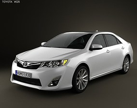 Toyota Camry 2012 US Version 3D