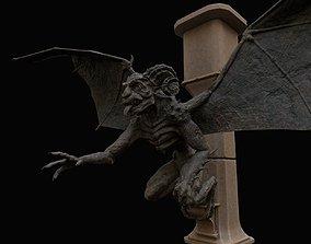 Gargoyle 3D asset