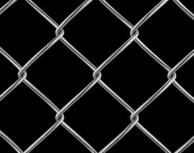 Wire Fence 3D model fence