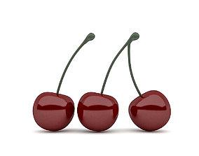 3dmax 3D Cherry Model realtime