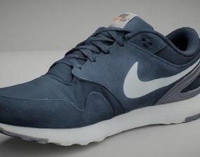 realtime Nike shoe low poly 3D model