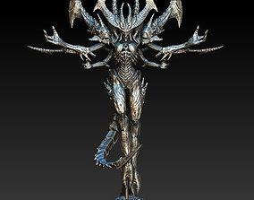 3D Diablo III Statue